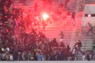 Affrontements des ultras du Raja.