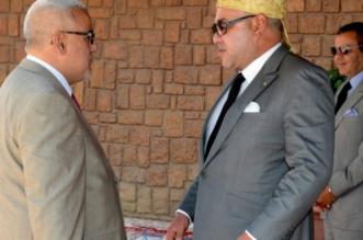 Benkirane et Mohammed VI ©DR