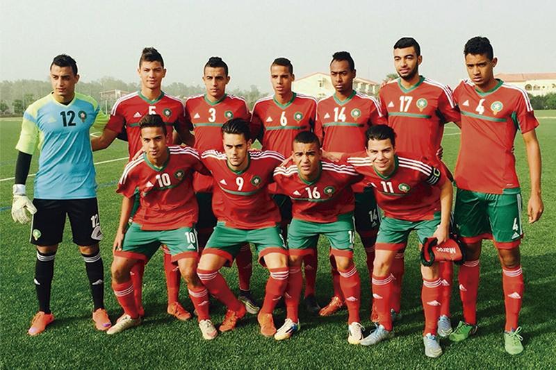 L'équipe du Maroc présente au tournoi.©DR