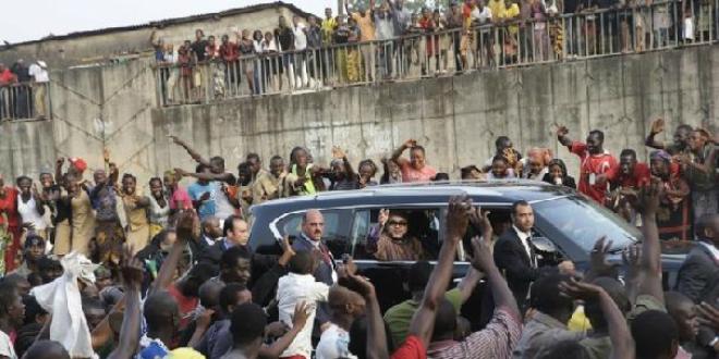 Le Roi du Maroc en visite au Ghana