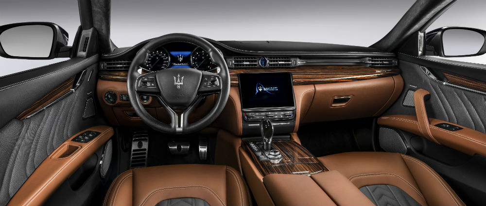 New Quattroporte S Q4 GranLusso_dashboard with Zegna Edition
