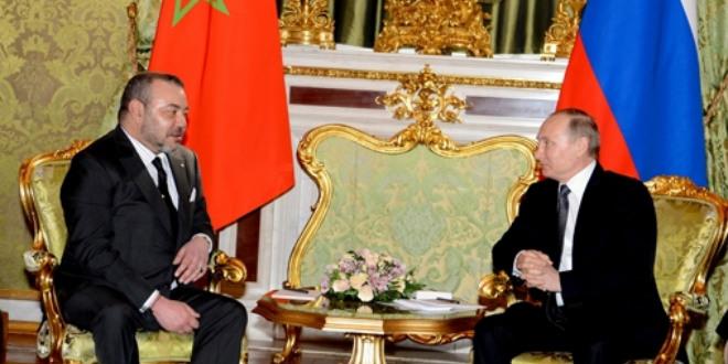 Le roi Mohammed VI a reçu un message de Poutine
