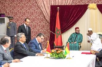 Devant le Roi et Alpha Condé, l'OCP s'engage à approvisionner la Guinée en engrais phosphatés