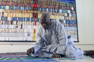 L'étoffe des songes: l'exposition-évènement d'Abdoulaye Konaté à Casablanca