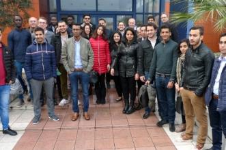 Trente élèves de l'EIGSI Casablanca à l'usine d'Alstom à la Rochelle