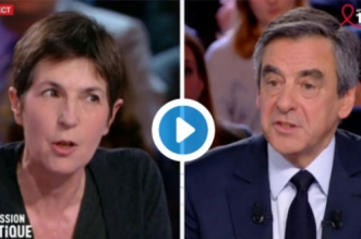 Echange très violent entre Christine Angot et François Fillon (VIDEO)