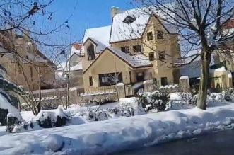 Il a encore neigé à Ifrane ! (VIDEO)