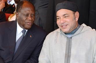 Le président ivoirien a reçu un message du roi Mohammed VI