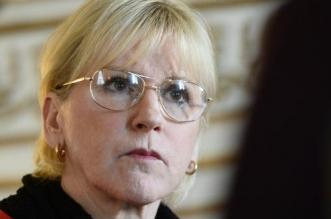 La ministre des affaires étrangères de Suède Margot Wallström