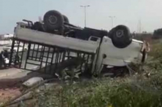 Terrible accident de la route entre Casa et Rabat (VIDEO)