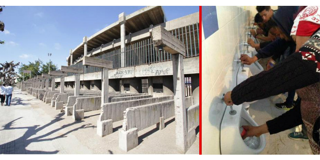 Casablanca le dossier du complexe mohammed v chez le for Complexe mohamed 5 piscine