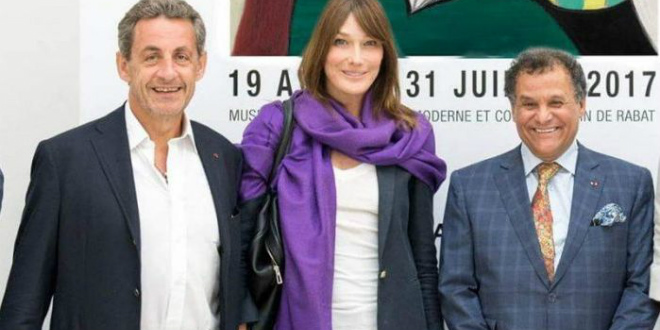 La famille Sarkozy est en vacances à Marrakech !