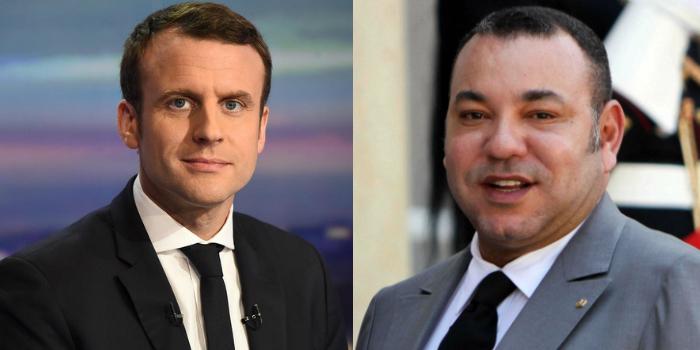 Le roi Mohammed VI s'est entretenu avec Emmanuel Macron