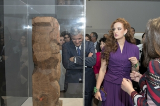 En photos: La Princesse Lalla Salma inaugure l'expo «Face à Picasso»