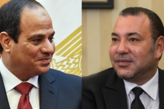 Le Roi Mohammed VI adresse un message au président égyptien