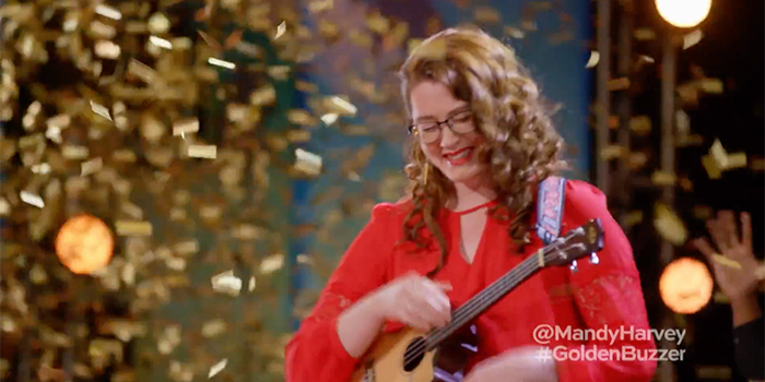 "Mandy Harvey: ""Try"" – AGT, Golden Buzzer"