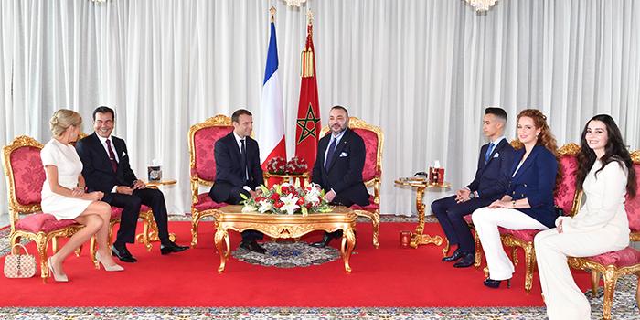 Comment se portent les relations maroc france for Les portent claquent