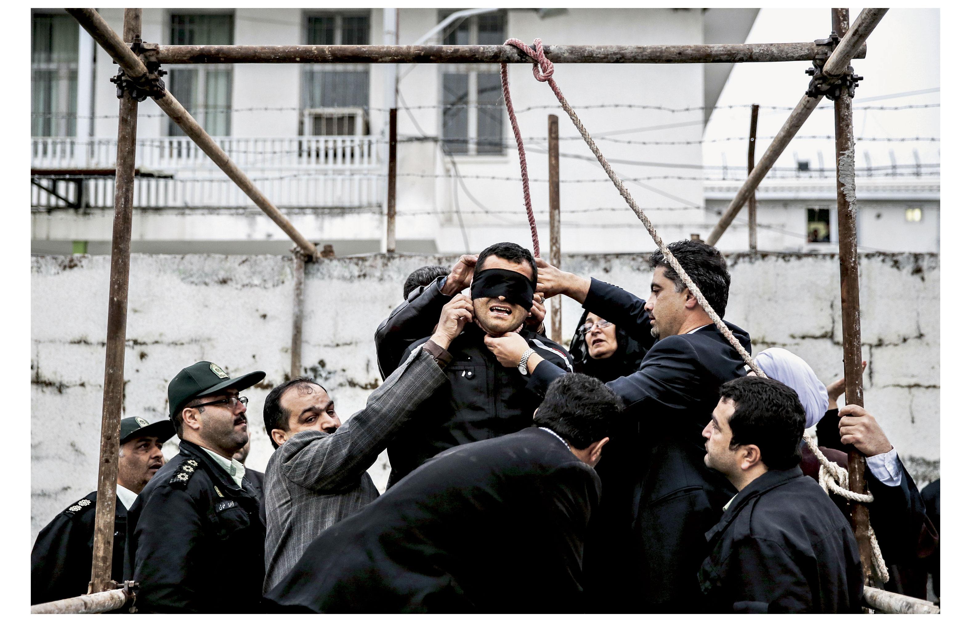 «Geste de pardon» (2014). Arash Khamoosh