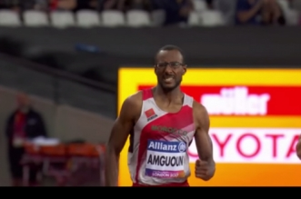Le Marocain Mohamed Amguoun bat le record du monde du 400m (World Para Athletics)