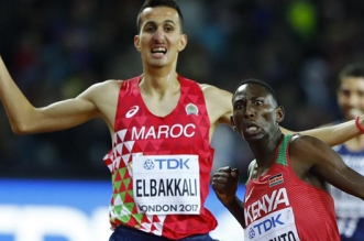 Diamond League/1500m: Soufiane El Bakkali décroche la 3e position