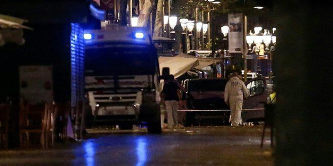 Les images de la deuxième attaque terroriste à Barcelone (VIDEO)