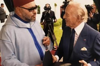 Le livre qu'a présenté Othman Benjelloun au Roi Mohammed VI