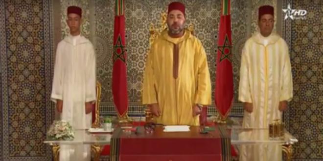 Le discours du Roi Mohammed VI en vidéo