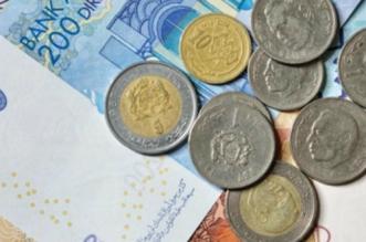 Cours de change des devises contre le Dirham