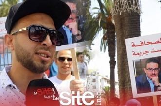 Marche de Rabat: la famille de Bouachrine y était aussi (VIDEO)
