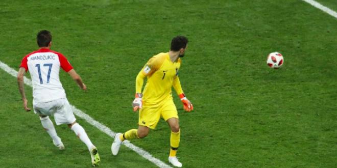 Finale CM 2018. France-Croatie: l'énorme bourde de Lloris (VIDEO)