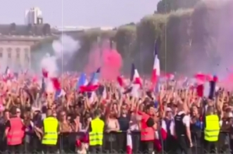 CM 2018: la joie des Français après le sacre (VIDEO)