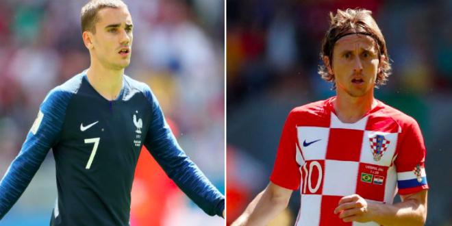 France-Croatie: suivez le match en direct (Finale Coupe du monde)