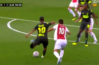 Le superbe but de Mehdi Carcela face à l'Ajax de Ziyech (VIDEO)