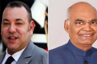 Le président indien a reçu un message du roi Mohammed VI