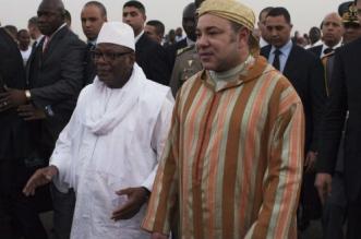 Le roi Mohammed VI a félicité le président Keïta