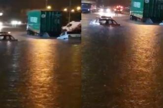 VIDEO- premières inondations à Casablanca après la pluie