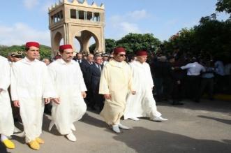 Funérailles de Karim Lamrani en présence du prince Moulay Rachid