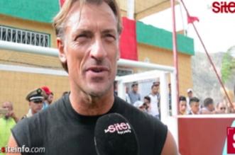 Que faisait Hervé Renard dans un patelin du Haut Atlas? (VIDEO)