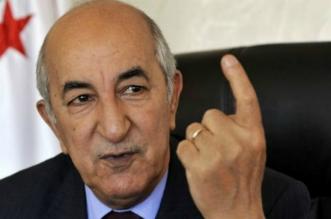 Algérie: le président Tebboune entre en confinement volontaire