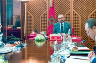 Rabat: le roi Mohammed VI a présidé une séance de travail