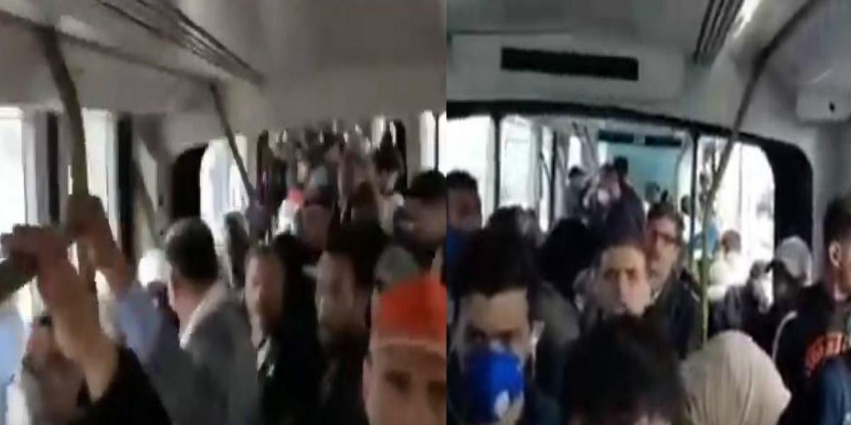 Coronavirus/Casablanca: une vidéo filmée à bord du tram indigne la Toile