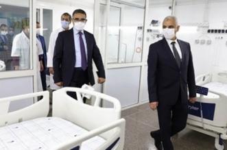Covid-19: l'hôpital Ibn Sina se dote d'un espace équipé
