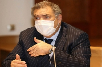 Abdelouafi Laftit tient une réunion avec les chefs des partis