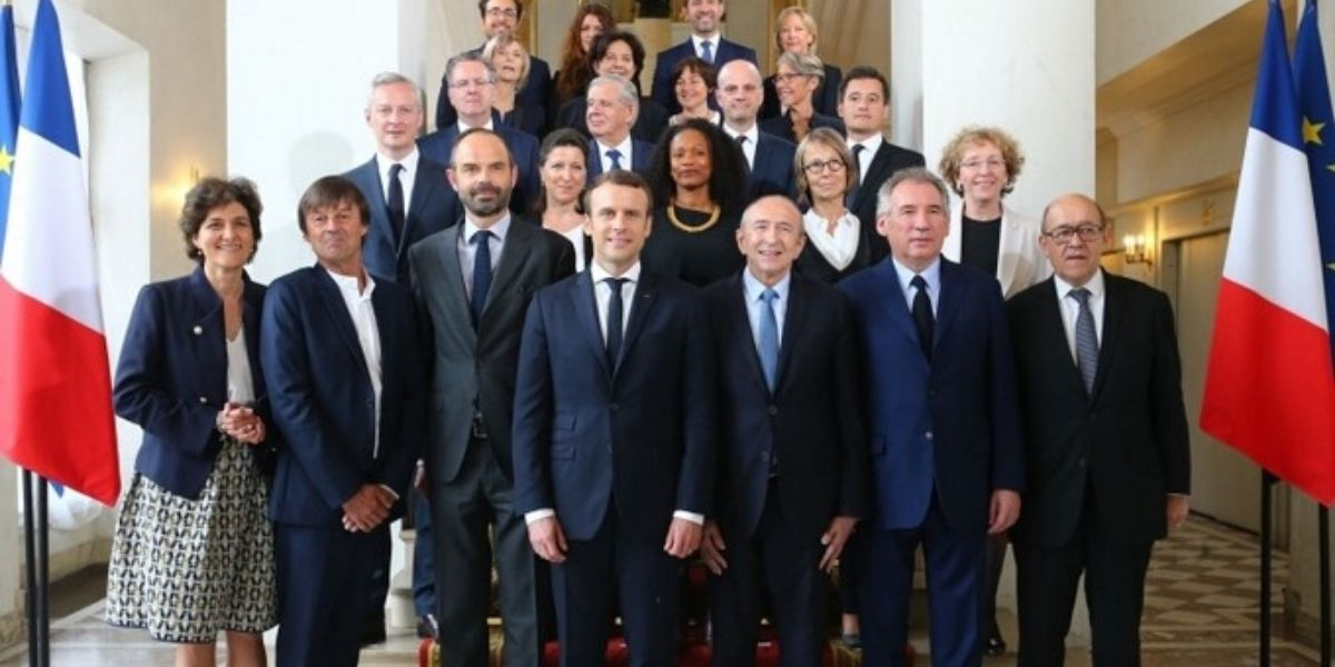 Démission du gouvernement d'Édouard Philippe