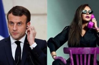 Explosions à Beyrouth: l'étrange requête d'une actrice libanaise au président français (PHOTO)
