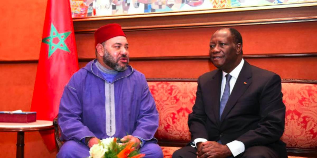 Le président Ouattara a reçu un message du roi Mohammed VI