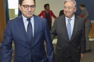 Ce que Bourita et Guterres se sont dit