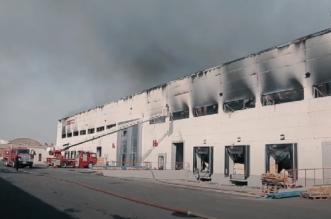 Incendie dans un dépôt à Casablanca: un riverain témoigne (VIDEO)