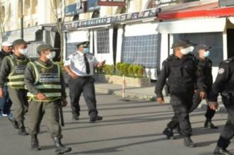 Couvre-feu et mesures restrictives dans une ville près de Rabat