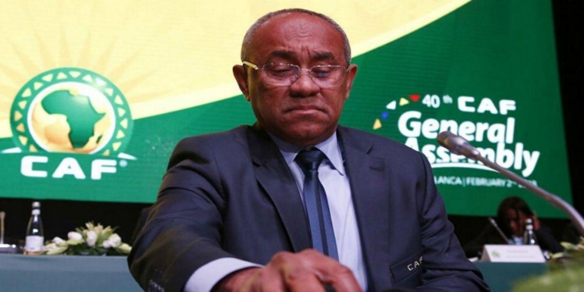 Le président de la CAF quitte temporairement son poste